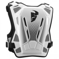 Chest Roost Protective Motocross THOR Guardian MX White